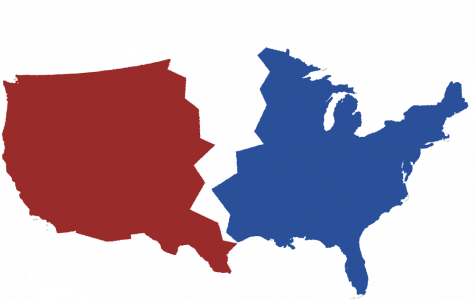More and more, America's Democracy seems split down the middle.