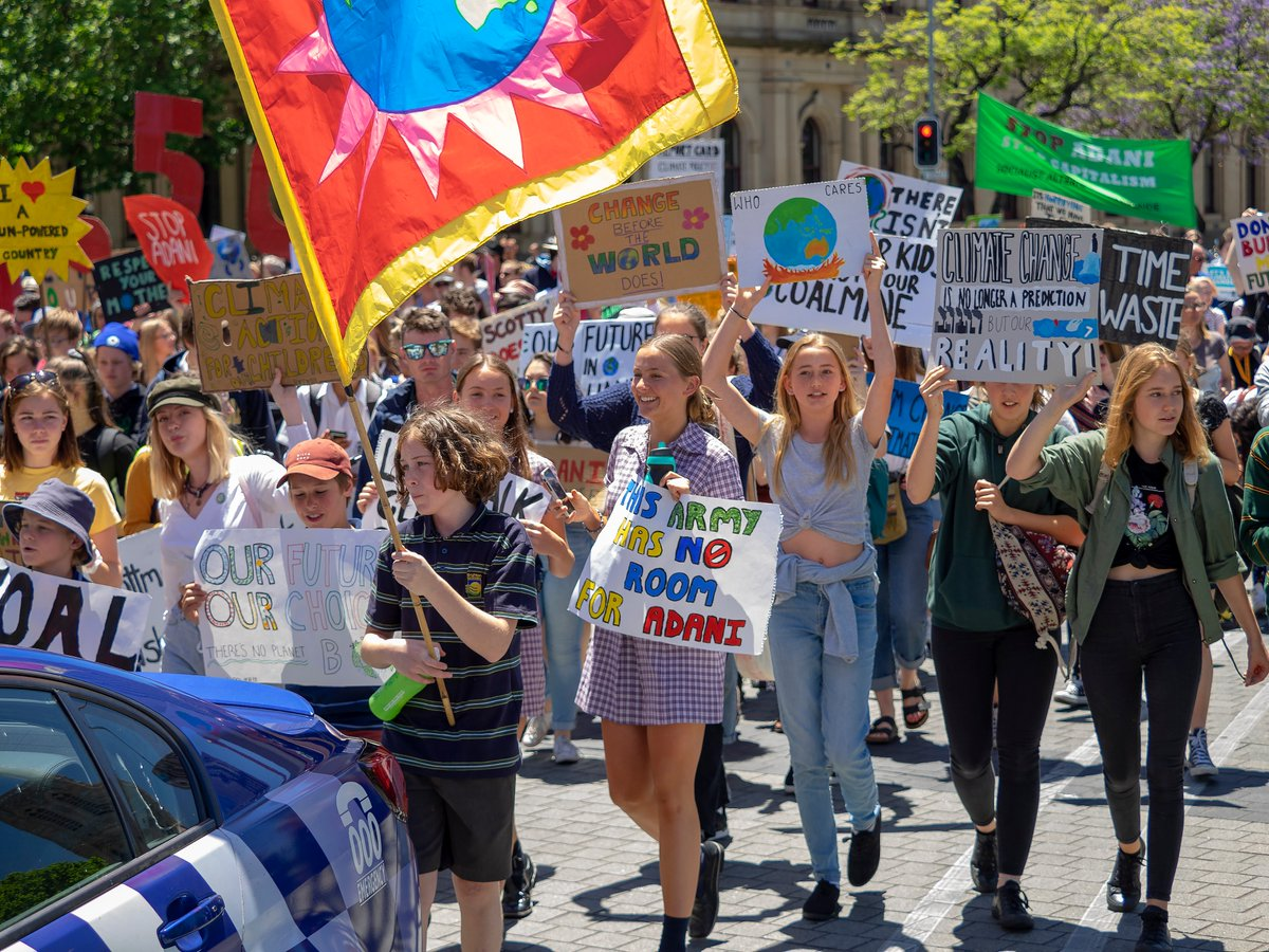 Credit: School Strike 4 Climate