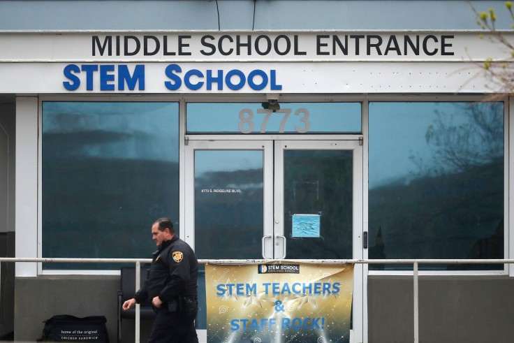 The+Middle+School+Entrance+of+the+STEM+school+in+Highlands+Ranch.%0APhoto+courtesy+of+Colorado+Public+Radio