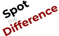 Spot the Difference Answers – October Issue
