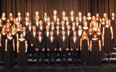 Fairview Choir Students at Festival