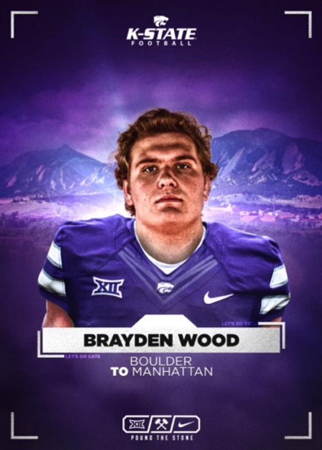 Keep Going No Matter What — Brayden Wood Receives Football Offers as a Junior