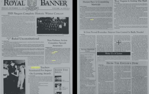 Royal Banner from December 17, 1993