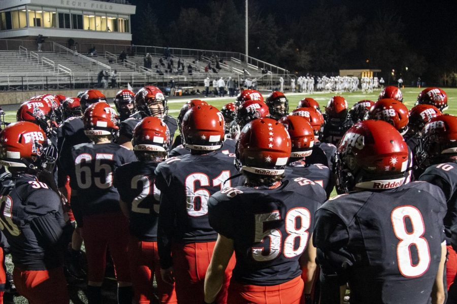 Photo from Fairview's home game versus Legacy on 10/30/20.