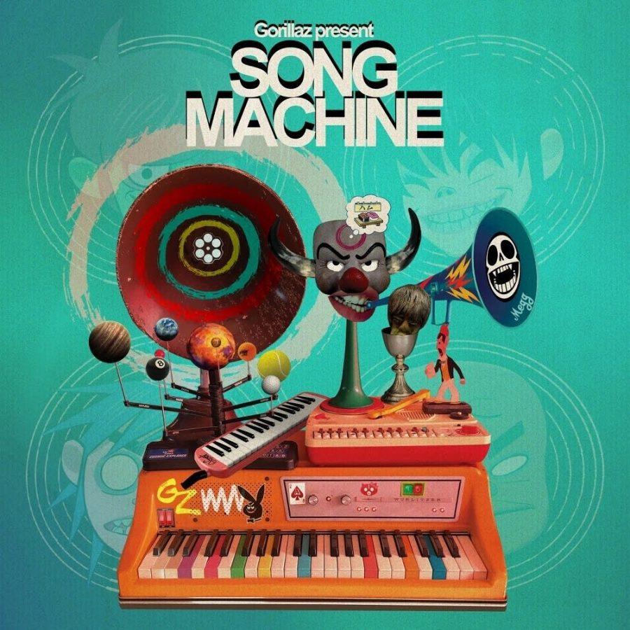 The+album+cover+for+Gorillaz%27s+%22Song+Machine%2C+Season+One%3A+Strange+Timez%22