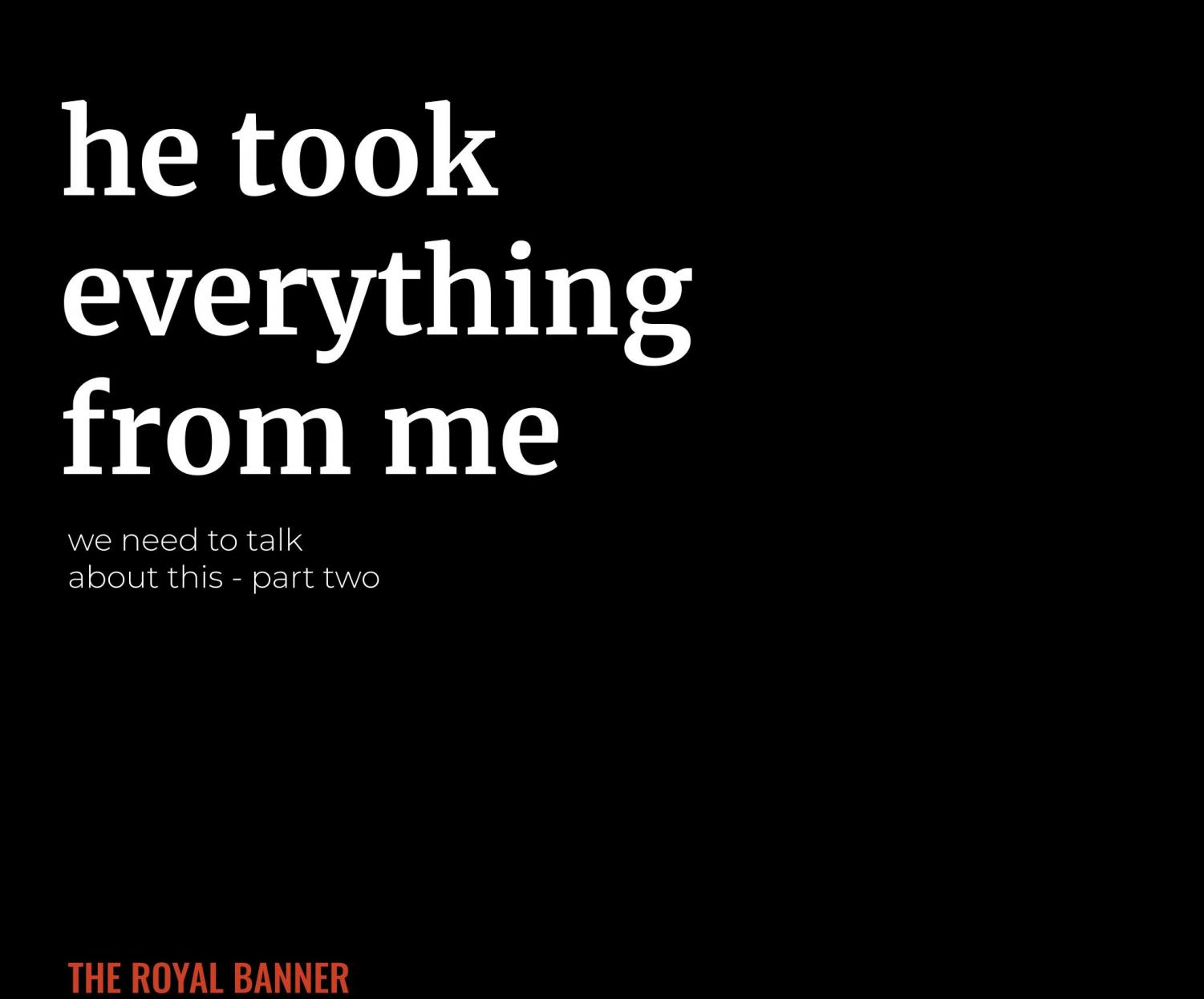 This is the second part in the Banner's series on sexual abuse.