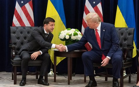 Trump and Volodymyr Zelensky