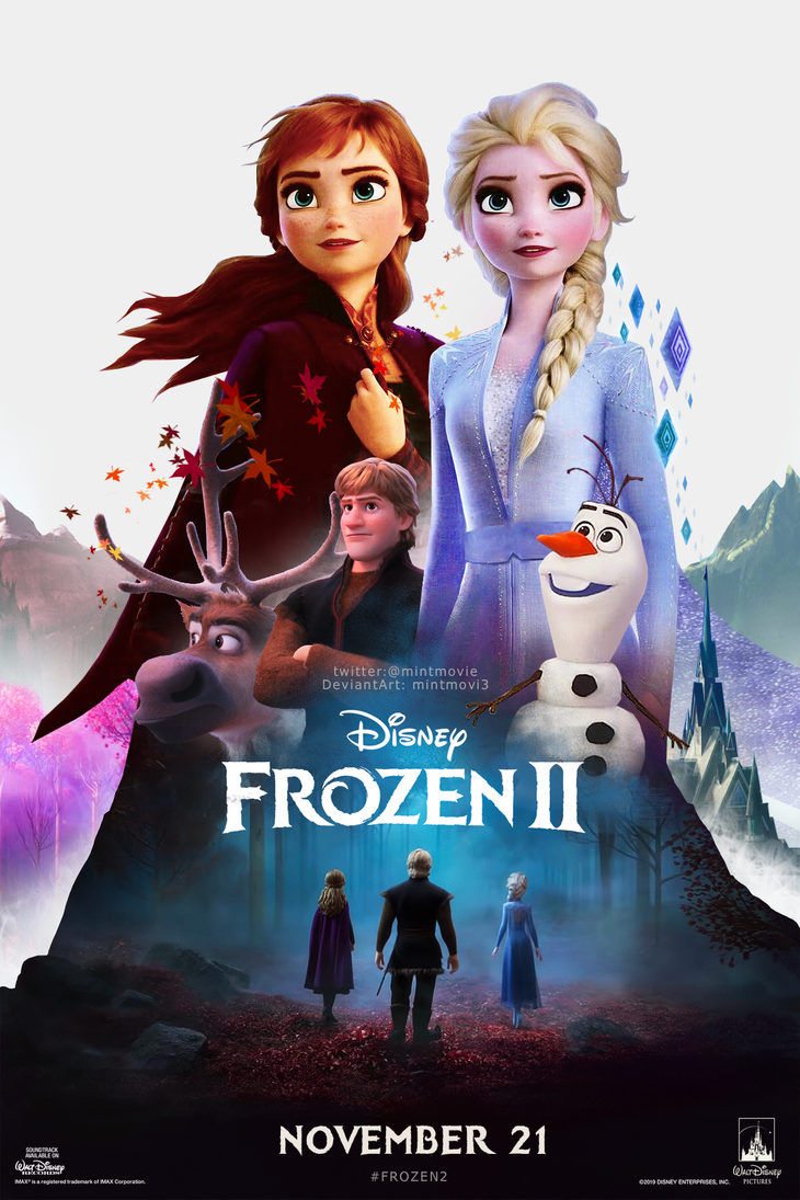 Frozen 2 Cover poster