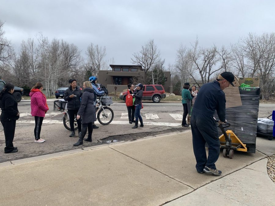 Families mingled at Crestview Elementary, causing concern.