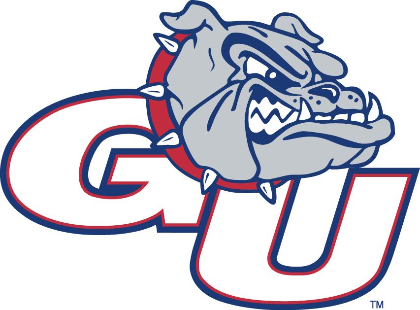 Gonzaga Bulldogs logo.